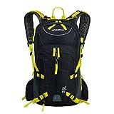 Lixada 25L Fahrradrucksack Trekkingrucksack Daypack für Reisen Bergsteigen Wasserabweisend mit Regen Abdeckung Gelb