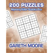 Mystery Killer Sudoku Pro: 200 Puzzles by Gareth Moore (2012-09-21)
