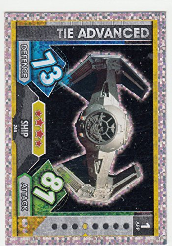 256-Kylo RENS Comand navette HOLO Carte Force Attax Movie 5-Universe