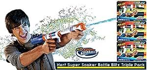 Hasbro 604150 Le pistolet à jet d'eau a grande capacité x 3