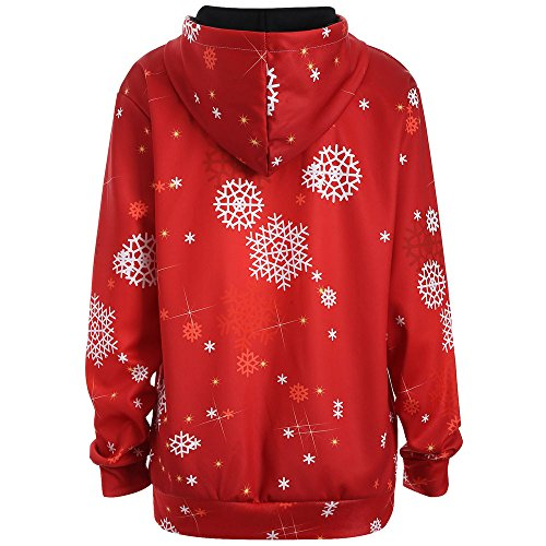Sweatershirt Freizeit Winter Damenpullover Pullover Warmer Kapuzenpullover WeihnachtskostüM Blusenkleid Feste Sweatshirt Pullover Tops Slim Fit Pulloverkleid Hoodie Sweatshirt -