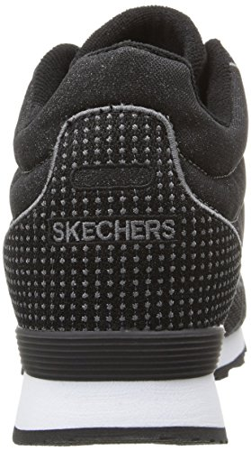 Skechers Og 85hollywood Rose, Sneakers basses femme Noir scintillant