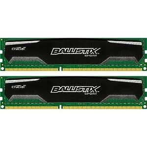 Crucial RAM DDR3 8GB/1333MHZ BALLISTIX SPORT[2X4GB] CL9