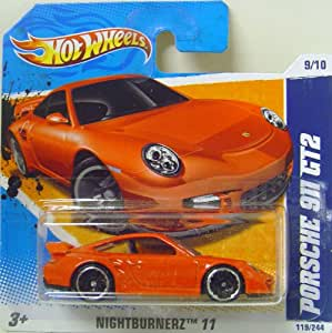 hot wheels porsche 911 gt2 in red toys games. Black Bedroom Furniture Sets. Home Design Ideas