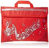 Musicwear: Sacoche De Musique Portée Onduleuse (Rouge) Accessoire