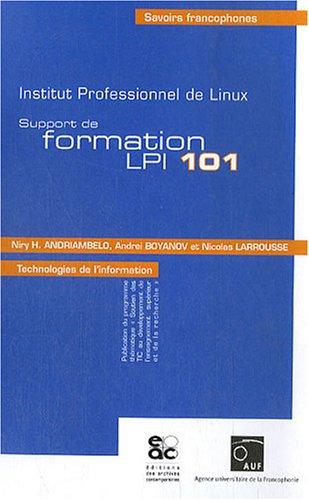 Support de formation LPIC 101 : Institut professionnel de Linux