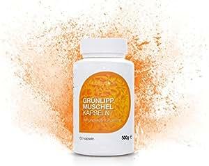 Natrea Grünlippmuschel Kapseln   150 Kapseln ✅ hoch konzentriert ✅ ca. 60 Tage Anwendung ✅ reich an Omega-3-Fettsäuren ✅ für gesunde Gelenke und kräftige Sehnen