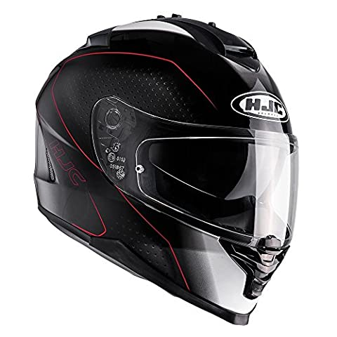 I7ARL - HJC IS-17 Arcus Motorcycle Helmet L Red (MC1)