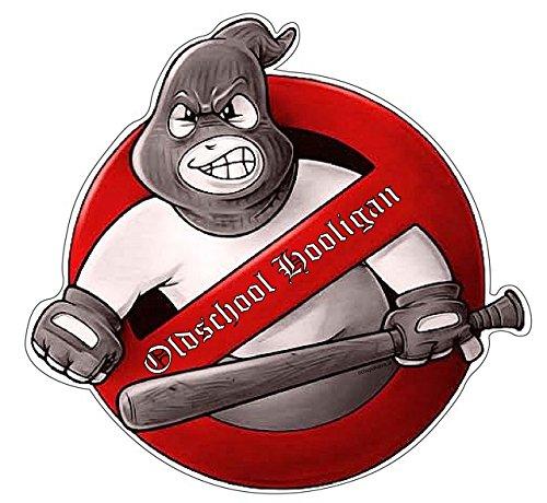 Oldschool Hooligan Aufkleber Sticker Hardcore Autoaufkleber JDM Boxen MMA -