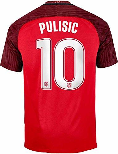 Nike Offizielles USA-3-Trikot Pulisic #10, Größe M