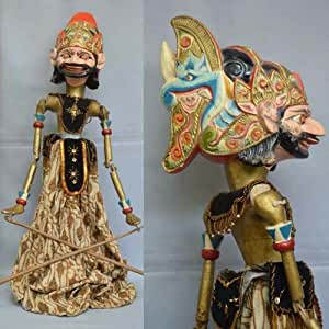 Exclusive from Indonesia Wayang Golek Traditional Wooden Doll