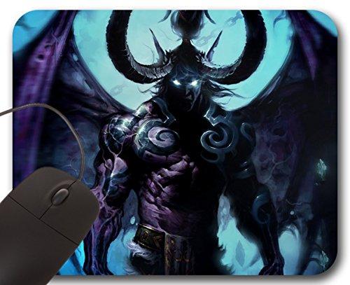 Mousepad Illidan Stormrage - Tappetino per Mouse WOW - World of Warcraft (World Of Warcraft Mouse Pad)