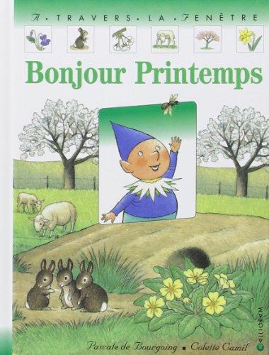 Bonjour printemps par Pascale de Bourgoing