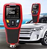 FENNGG Digitales lackmessgerät Schichtdickenmessgerät mit Farbe LCD Fe Probe Autolacklack Autolackierung Lacktester Meter (0-1250 um)