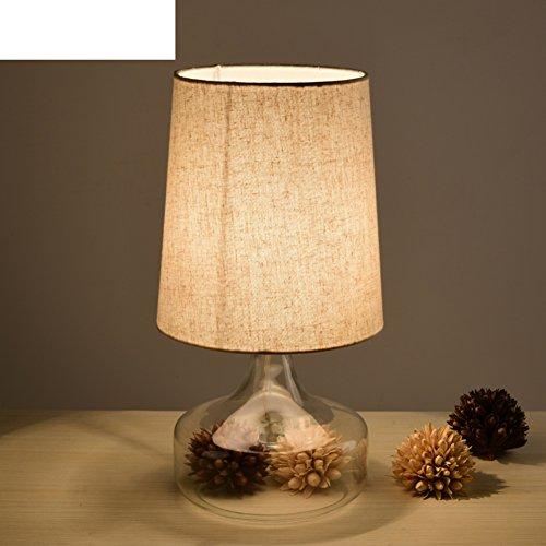 idee di soggiorno rurale americano vetro lampada da tavolo di nozze/Caldo-B