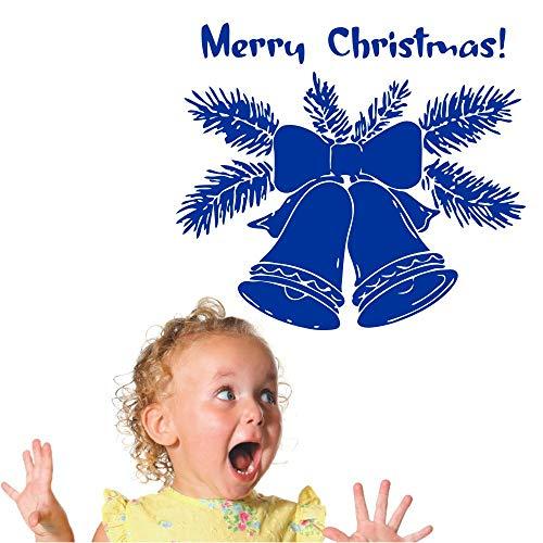 Ajcwhml Große Weihnachten Jingle Bells Jingle Vinyl Wandaufkleber Jahr Frohe Weihnachten Hause Raum Neue Dekoration Markt Wanddekoration Applique Wandbild 55cmx85cm - Minnie Maus-markt