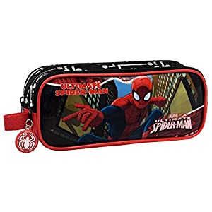 Spiderman Spiderman City Neceseres de Viaje, 23 cm, 1.45 litros, Multicolor