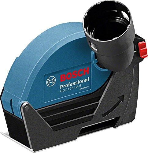 Bosch Professional 1600A003DH GDE 125 EA-S Absaughaube, 125 mm Trennscheiben-Ø, 25 mm max. Schnitttiefe, Montage mit Schrauben, 300 g