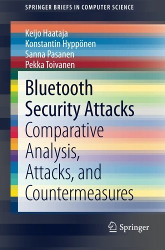 Bluetooth Security Attacks: Comparative Analysis, Attacks, and Countermeasures (SpringerBriefs in Computer Science) by Keijo Haataja (12-Nov-2013) Paperback
