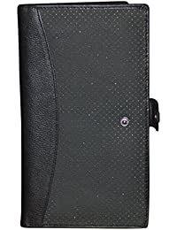 Style98 Reduced Price Item Black AMAZON GREAT INDIAN FESTIVAL SALE!OFFERS/DEALS Travel Wallet/leather Passport...