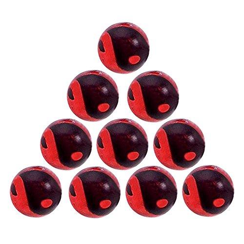 Glitter Kugel Yin und Yang Ersatzkugeln 10Stück zu Passform 1,6mm Bars Zunge, Bauch, Labret