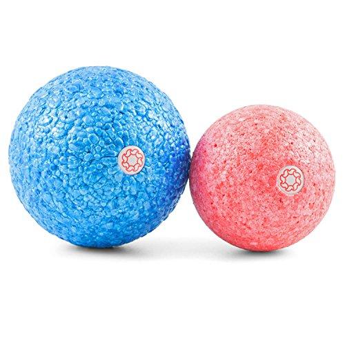 1 Stücke Tragbare Fitness Bein Muskeln Komplette Hautpflege übungen Müde Release Fuß Massage Ball Körper Entspannen Ball 100% Original Bad & Dusche