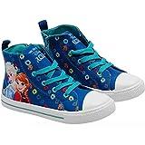 Frozen, Damen Sneaker Blau Blau