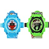Doraemon & Ben 10 Projector Watches For Boys & Girls