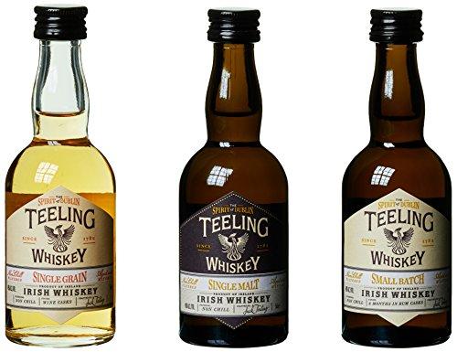 Teeling Whiskey Trinity Pack mit Geschenkverpackung (1 x 0.15 l)