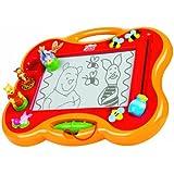 TOMY Megasketcher - T6486 - Mon Premier Megasketcher Winnie l'Ourson - Ardoise Magique - Loisir Créatif