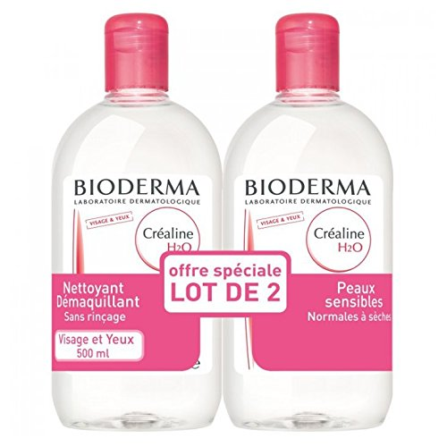 Bioderma Créaline H2O Solution Micellaire Lot de 2 x 500 ml