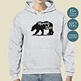 Ladies Mummy Bear Hooded Jumper Gifts for her, Gift For Mom, Christmas Gift, Jackets For Her, Mothers Day Gift, First Mothers Day, Mama Bear Hoodie, Mama Bear Jacket