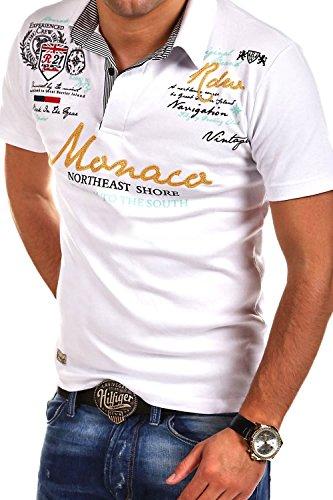 MT Styles Poloshirt MONACO T-Shirt R-2254 Weiß