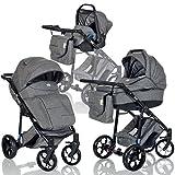 LCP Kids 3-in-1 Kombi-Kinderwagen