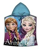 Disney-La Frozen Poncho poliestere, wd19609m, 100x 150cm