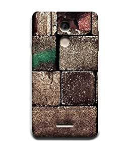 PrintVisa Designer Back Case Cover for Coolpad Note 5 (Brick Stone Wall Texture Boundary Crack Black)