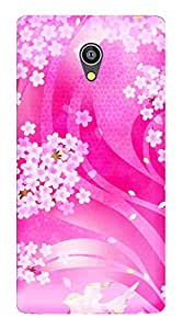 TrilMil Printed Designer Mobile Case Back Cover For Micromax Canvas Fire 4G Q411