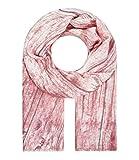 Majea Halstücher Damen Tuch Kopftuch Halstuch Schal Damen-Schal Tücher Damen Stola (alt rosa 18)