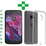 Moto X4, Tempered Glass, Back Cover, (COMBO OFFER TRANSPARENT) Premium Real Perfact Fit 2.5D 9H Anti-Fingerprints & Oil Stains Coating Hardness Screen Protector Guard For Motorola Moto X4