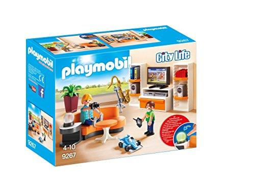 Playmobil Casa Moderna-9267 Salón,, tañosllaños (9267)
