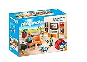 Playmobil Casa Moderna-9267 Salón,, tañosllaños (9267