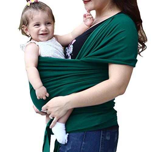 0b1ae4150 Zhongke Baby Carrier Wrap Light lactancia ajustable transpirable algodón  honda acogedor reconfortante para bebés manos libres