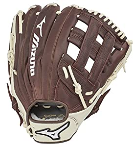 Mizuno Franchise Baseballhandschuh Serie, Unisex, GFN1250B3, Coffee/Silver H...