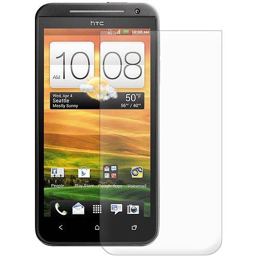 Amzer AMZ93700 Displayschutzfolie für HTC EVO 4G LTE, blendfrei, inkl. Reinigungstuch, transparent, 1 Stück (Handy Htc Evo Lte 4g)