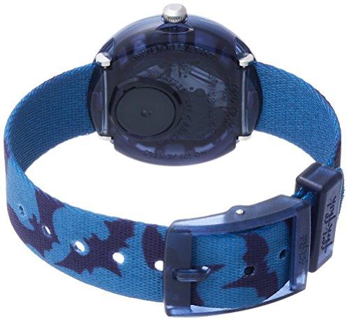 Flik Flak Jungen Analog Quarz Smart Watch Armbanduhr mit Stoff Armband FPNP017 - 2
