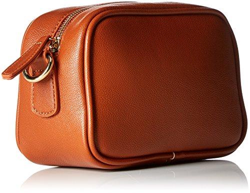 ESPRIT Damen 097ea1o030 Schultertasche, 9x13x19,5 cm Braun (Rust Brown)