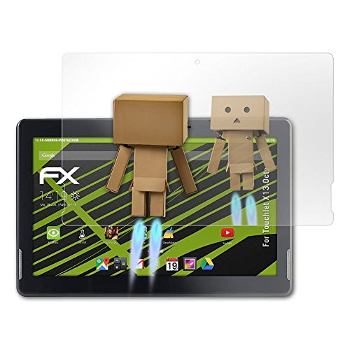 atFolix Bildschirmfolie kompatibel mit Touchlet X13.Octa Spiegelfolie, Spiegeleffekt FX Schutzfolie