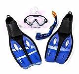 Kinder-Profi-Schnorchel-Set mit Tauchmaske, Schnorchel und Flossen, Größe S oder XS, lieferbar in...