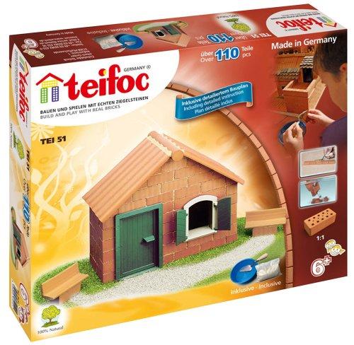 Teifoc TEI 51 - Haus mit Dachplatte