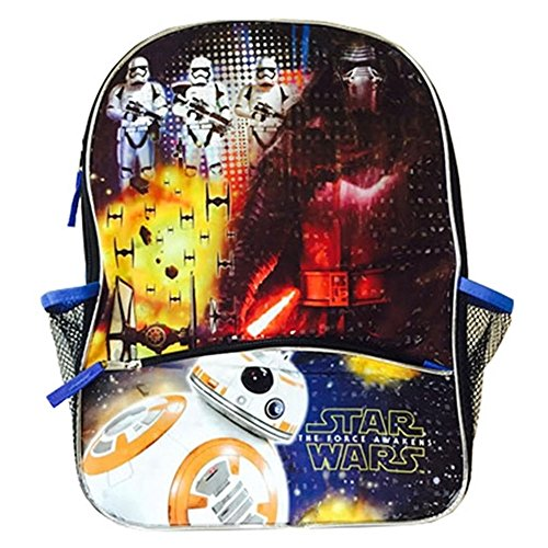 Sac à dos Motif Star Wars'EP 7–16 BB8 w/trousse SWCSE New